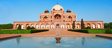 Humayuns Tomb, New Delhi, India Stock Photo
