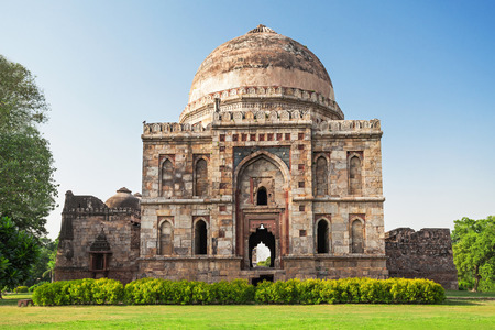 Lodi Gardens - architectural works of the 15th century Sayyid and Lodhis, an Afghan dynasty, New Delhi Stock Photo