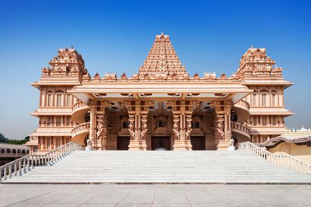 madhya pradesh: Shri Adhya Katyani Shakti Peeth Mandir is popularly known as Chhatarpur Temple Stock Photo