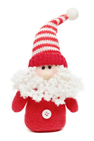 Santa isolated on a white background Stock Photo