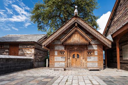 Jagti Patt Temple in Naggar, Himachal Pradesh, India