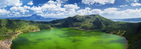 Taal - the smallest lake in the world volcano, Manila, Philippines photo