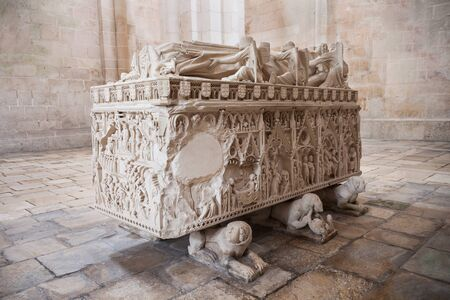 portugese: Royal tomb at the Alcobaca Monastery, Portugal