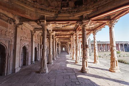 pradesh: Old Mosque in Mandu, Madhya Pradesh, India Editorial