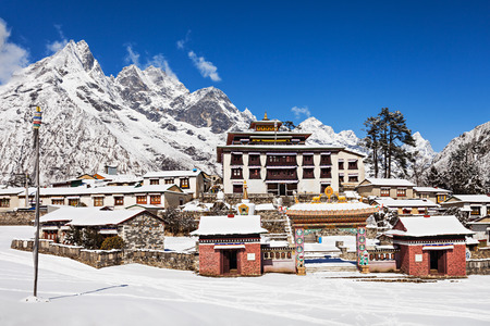 everest: Tengboche Monastery in Tengboche, Everest region, Nepal