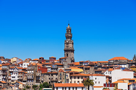 torre: Clerigos Tower (Torre dos Clerigos), Porto, Portugal Stock Photo