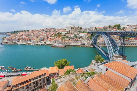 portugal: Douro river and traditional boats in Porto, Portugal