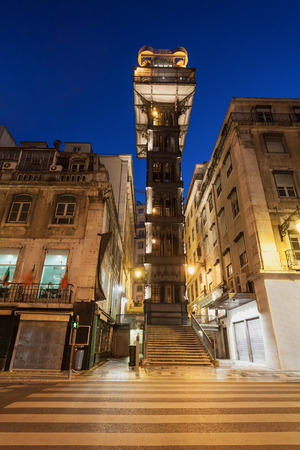 justa: The Santa Justa Lift also called Carmo Lift is an elevator in Lisbon