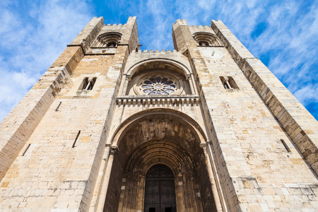 patriarchal: Se Cathedral (The Patriarchal Cathedral of St. Mary Major) in Lisbon, Portugal