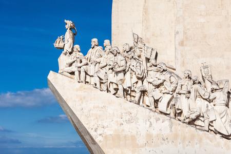 descubridor: Padrao dos Descobrimentos (Monumento a los Descubrimientos) es un monumento en la orilla del río Tajo en Lisboa, Portugal