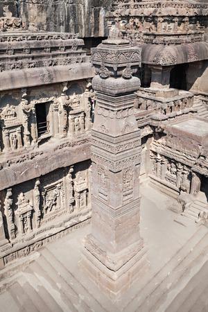maharashtra: Kailas Temple in Ellora, Maharashtra state in India