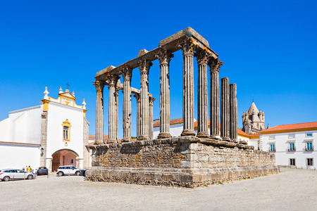 referred: The Roman Temple of Evora (Templo romano de Evora), also referred to as the Templo de Diana is an ancient temple in the Portuguese city of Evora