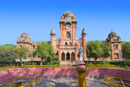 indore: Mahatma Gandhi Town Hall (old name - King Edward Hall) in Indore, India