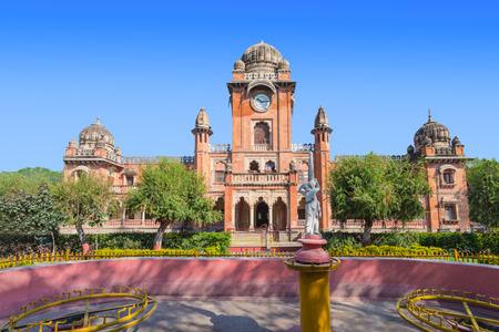 mahatma: Mahatma Gandhi Town Hall (old name - King Edward Hall) in Indore, India
