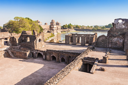 madhya pradesh: Royal Enclave in Mandu, Madhya Pradesh, India Stock Photo