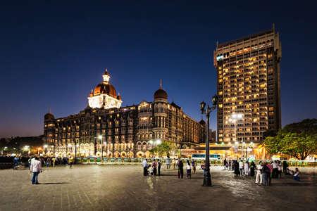 MUMBAI, INDIA - FEBRUARY 21: The Taj Mahal Palace Hotel on Febuary 21, 2014 in Mumbai, India