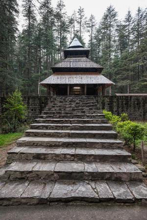 devi: Hidimda Devi Temple is located in Manali, India