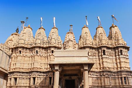 jaisalmer: Jain Temple in Jaisalmer Fort, Rajasthan state in India
