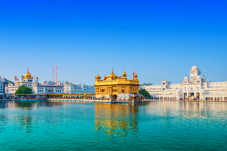 amritsar: Golden Temple (Harmandir Sahib) in Amritsar, Punjab, India