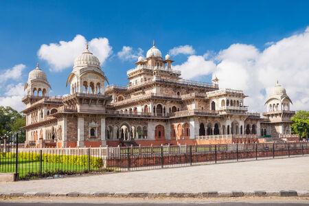 jaipur: Albert Hall (Central Museum), Jaipur. It is located in Ram Niwas Garden in Jaipur
