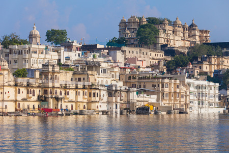 rajput: Udaipur City Palace in Rajasthan is one of the major tourist attractions in India