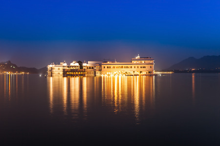 jag: Jag Mandir on Pichola lake, Udaipur, India Editorial