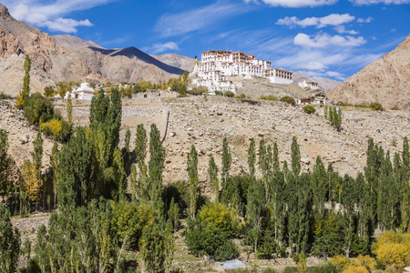 maitreya: Likir Monastery is a Buddhist monastery in Ladakh, India