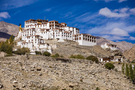 Likir Monastery is a Buddhist monastery in Ladakh, India photo