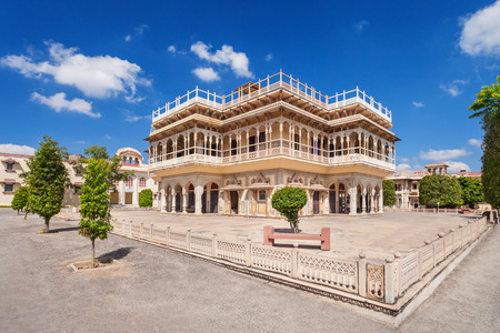 maharaja: Mubarak Mahal Palace (City Palace) in Jaipur, India
