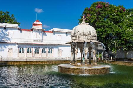 Saheliyon-ki-Bari (Courtyard of the Maidens) is a major garden in Udaipur, India