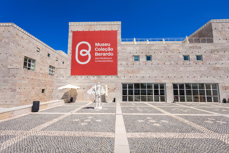 june 25: LISBON, PORTUGAL - JUNE 25: Museum of Modern and Contemporary Art (Museu Berardo) on June 25, 2014 in Lisbon, Portugal
