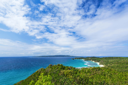 View point station at Boracay island, Philippines Stock Photo