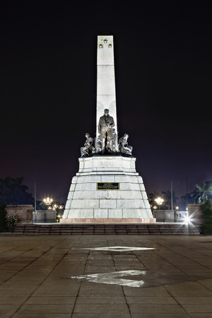 nationalist: Monument of Jose Rizal - Filipino nationalist, writer and revolutionary Editorial