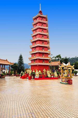 Ten Thousand Buddhas Monastery (Man Fat Tsz) in Sha Tin, Hong Kong photo