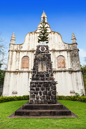 Tomb at St. Francis Church, place where Vasco De Gama died, Cochin, India