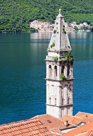 Saint Nikola Church in Perast, Kotor harbor, Montenegro
