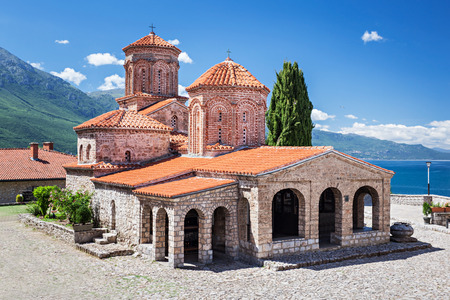 Saint Naum Monastery near Ohrid in Macedonia