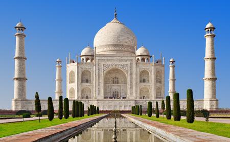 타지 마할, 아그라, 우타르 프라데시, 인도