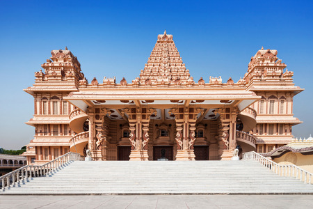 Shri Adhya Katyani Shakti Peeth Mandir is popularly known as Chhatarpur Temple Stock Photo