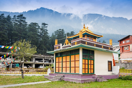 Tibetan monastery in Manali, Himachal Pradesh, India