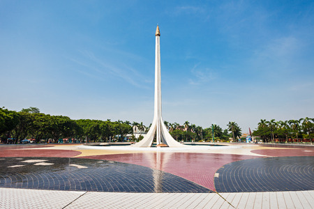 recreational area: Monument in Taman Mini Indonesia Indah is a culture based recreational area located in East Jakarta.