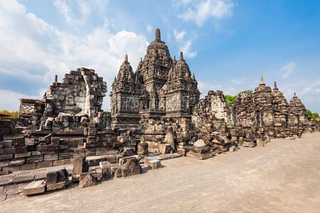 buddhist temple: Sewu is a Buddhist temple complex near Prambanan Temple, Central Java in Indonesia