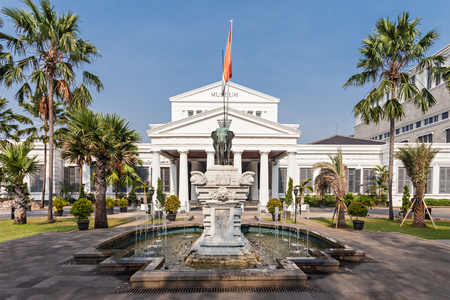 museums: The National Museum of Indonesia. It is an archeological, historical, ethnological, and geographical museum.