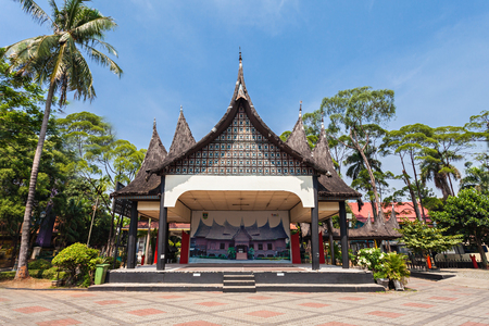 traditional house: Taman Mini Indonesia Indah is a culture based recreational area located in East Jakarta