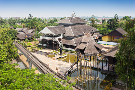 recreational area: Taman Mini Indonesia Indah is a culture based recreational area located in East Jakarta