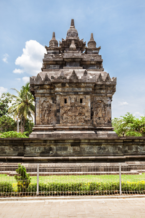 ancient architecture: Candi Pawon is a buddhist temple located near Borobudur temple in Central Java, Indonesia