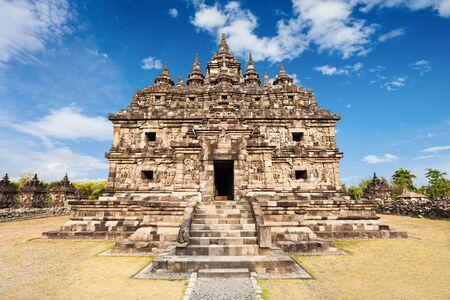 prambanan: Candi Plaosan is a Buddhist temple near Yogyakarta, Central Java in Indonesia