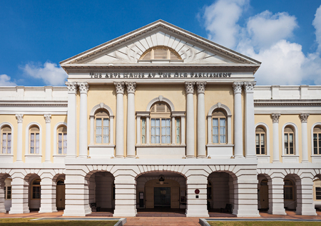 singapore culture: The Arts House (formerly Old Parliament House) is a building in Singapore Editorial