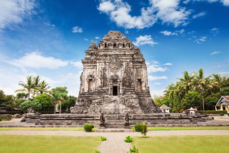 prambanan: Kalasan is a Buddhist temple complex near Prambanan Temple, Central Java in Indonesia Stock Photo