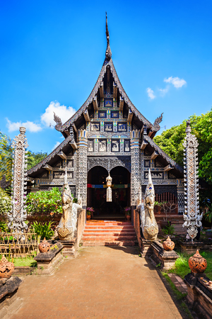 molee: Wat Lok Molee is a Buddhist temple in Chiang Mai, Thailand Stock Photo